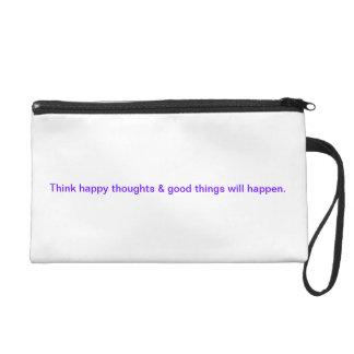 Inspirational wrist purse
