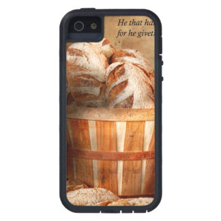 Inspirational - Your daily bread - Proverbs 22-9 iPhone 5 Covers