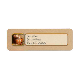 Inspirational - Your daily bread - Proverbs 22-9 Custom Return Address Label