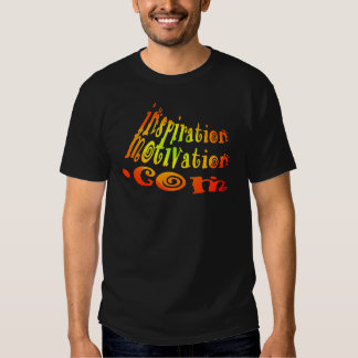 InspirationMotivation.com Firey Logo T-shirt