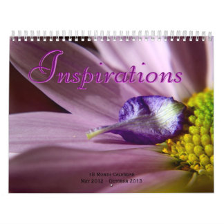 Inspirations 18 Month Calendar May 12 to Oct 13