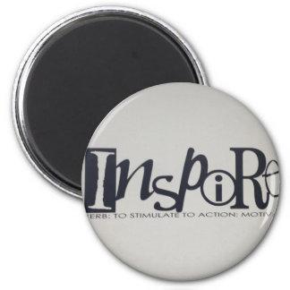 inspire 2 inch round magnet