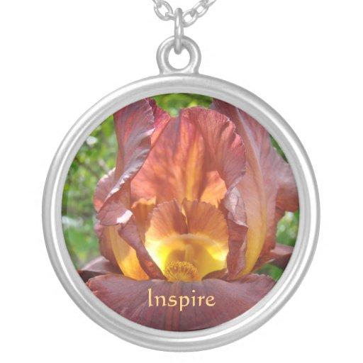 Inspire a los profesores rojos de las flores de lo colgante personalizado