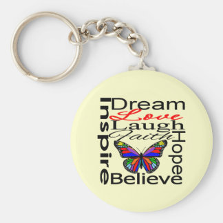 Inspire Collage Keychain