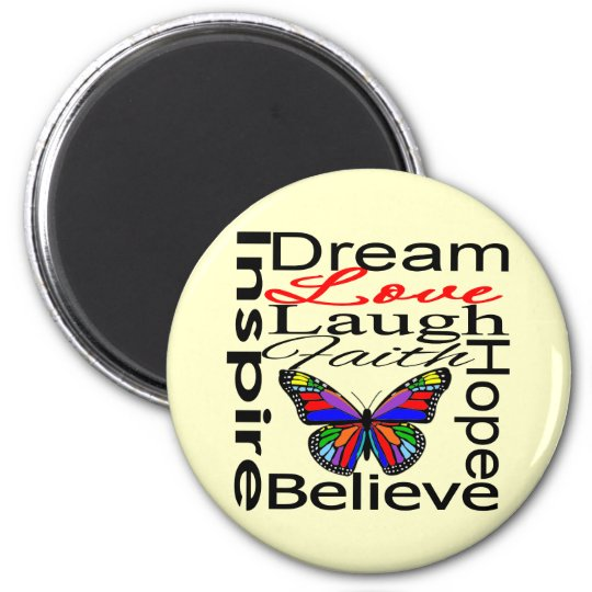 Inspire Collage Magnet