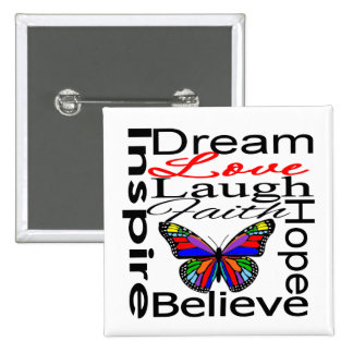 Inspire Collage Pin