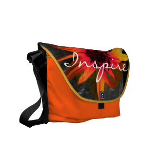 """INSPIRE"" & ""Create Excitement!"" Bag/Tote Messenger Bag"