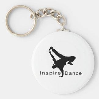 Inspire dance keychain