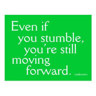 Inspire el éxito - postal de motivación