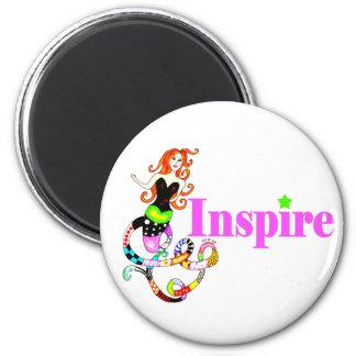 """Inspire el imán """"femenino"""" de la sirena"""