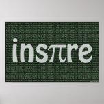 """""""Inspire"""" el poster, 14"""" x 11"""" Póster"""