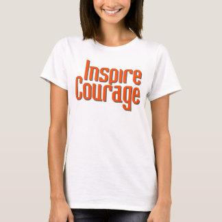 Inspire el valor playera
