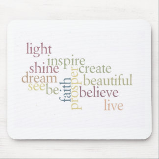 Inspire Faith Mouse Pad