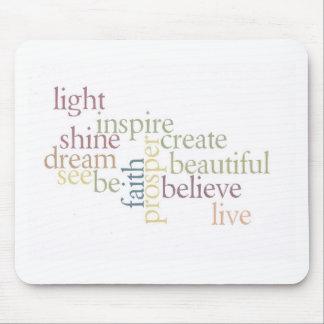 Inspire Faith Mouse Pads