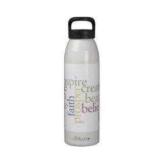Inspire Faith Reusable Water Bottle