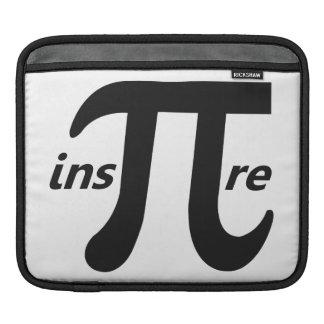 Inspire Inspirational Pi Symbol iPad Sleeves