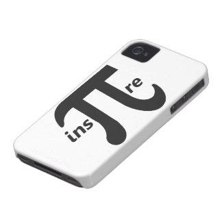 Inspire Inspirational Pi Symbol iPhone 4 Case