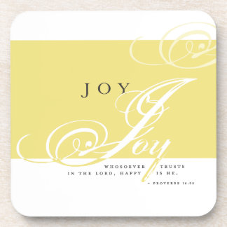 Inspire Joy Beverage Coaster