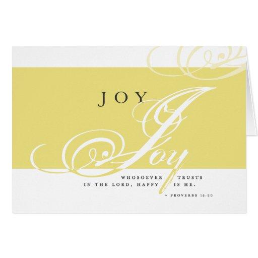 Inspire Joy Note Card