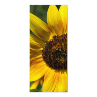 Inspire Joy Sunflower Bookmark 4x9.25 Paper Invitation Card