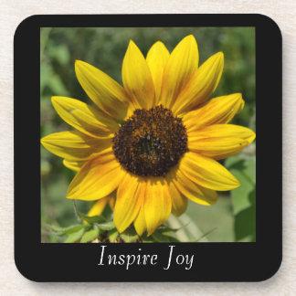 Inspire Joy Sunflower Coaster Set
