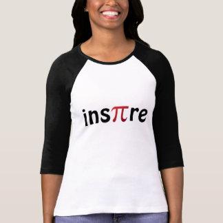 Inspire la camiseta del friki de la matemáticas remeras