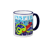 Inspire la taza de la sirena