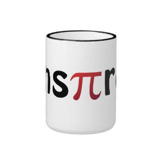 Inspire la taza del día de la matemáticas pi