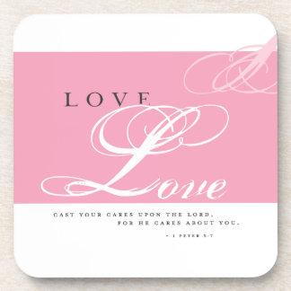 Inspire Love Beverage Coaster