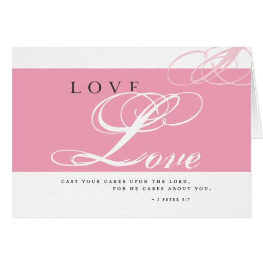 Inspire Love Note Card
