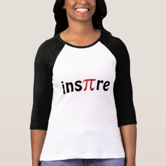 Inspire Math Geek T-shirt