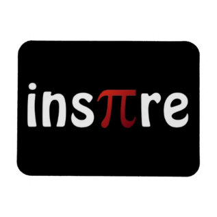 Inspire Math Pi Day Magnet at Zazzle