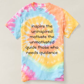 Inspire + motivate t-shirt