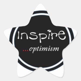 Inspire… pegatina del optimismo