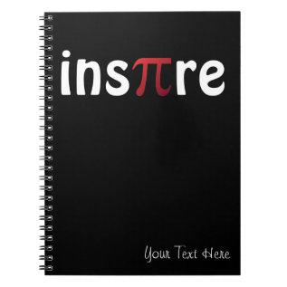 Inspire Pi Day Mathematics Math Geek Notebook at Zazzle