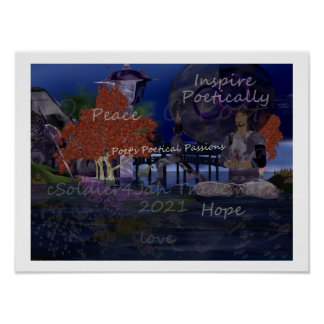 Inspire Poetically Poster