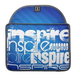 Inspire; Royal Blue Stripes Sleeves For MacBook Pro