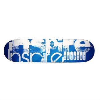 Inspire; Royal Blue Stripes Skateboards