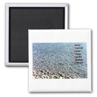 INSPIRE square magnet