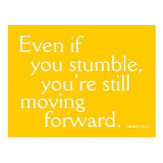 Inspire Success -  Motivational Postcard