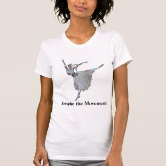Inspire the Movement  Customizable T-Shirt
