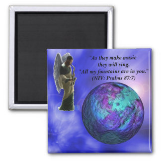 Inspire the World Scripture Magnet