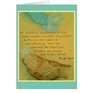 Inspire Your Senses Stationery Note Card