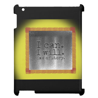 Inspire yourself iPad cover