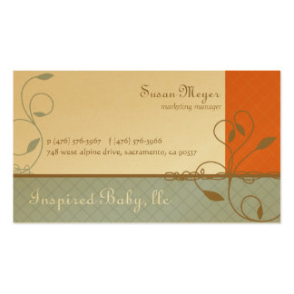 Inspired Baby Business Cards