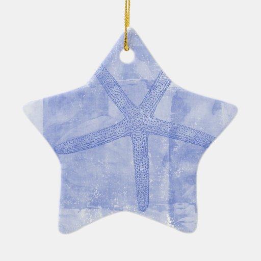 Inspired Beach Theme Starfish Ceramic Ornament