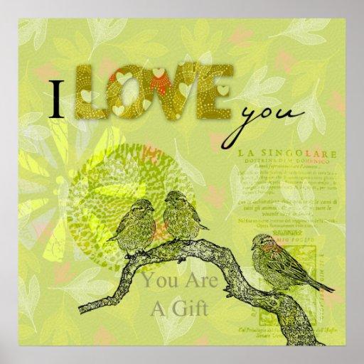 Inspired Birds Poster