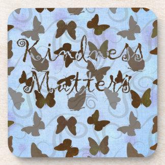 Inspired Butterflies Beverage Coaster