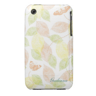 Inspired Butterflies Case-Mate iPhone 3 Cases