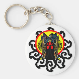 Inspired by Chinese Peking Opera performing arts Keychain